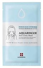 Духи, Парфюмерия, косметика Увлажняющая маска - Leaders Aquaringer Skin Clinic Mask
