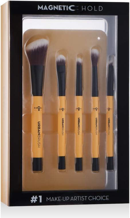 Набор магнитных кистей для макияжа - Bronx Colors Magnetic Urban Brushes Set (brushx8)
