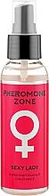 "Духи, Парфюмерия, косметика Спрей-мист для тела ""Sexy Lady"" - Liv Delano Pheromone Zone"