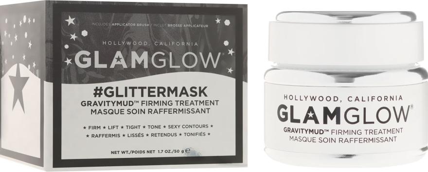 Маска для лица, повышающая упругость кожи - Glamglow Gravitymud Firming Treatment Glittermask
