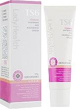 Духи, Парфюмерия, косметика Отбеливающий и питательный крем - TS6 Lady Health Whitening and Nourishing Cream