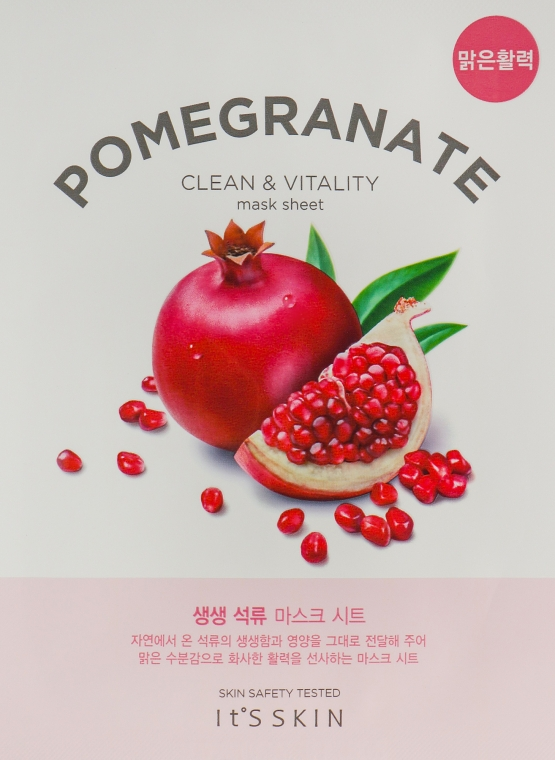Тканевая маска - It's Skin The Fresh Pomegrante Mask Sheet