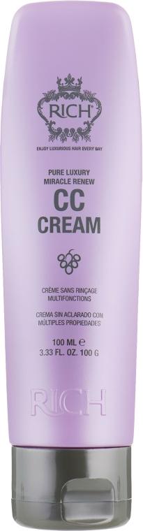 Восстанавливающая СС крем-маска для волос - Rich Pure Luxury Miracle Renew CC Cream