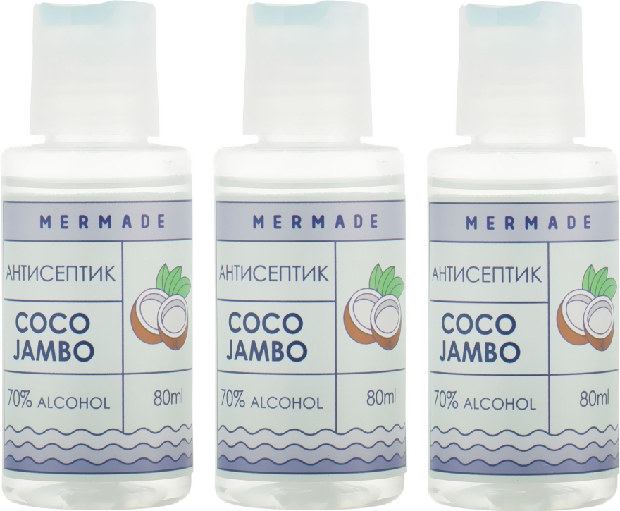Набор - Mermade Coco Jambo (hand/gel/3x80ml)