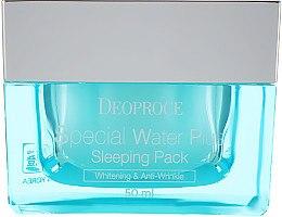 Духи, Парфюмерия, косметика Увлажняющая ночная маска - Deoproce Special Water Plus Sleeping Pack