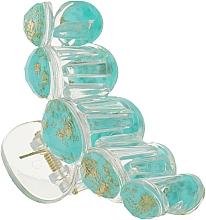 """Духи, Парфюмерия, косметика Крабик для волос """"5 Beads"""", HA-1252, бирюзовый - La Rosa"""