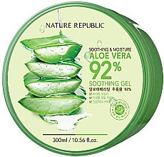 Духи, Парфюмерия, косметика Гель для лица и тела - Nature Republic Soothing & Moisture Aloe Vera 92% Soothing Gel