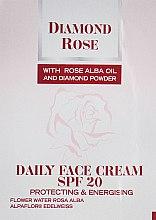 Духи, Парфюмерия, косметика Дневной крем для лица - BioFresh Diamond Rose Daily Face Cream SPF20 (пробник)