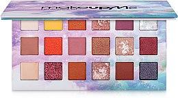 Духи, Парфюмерия, косметика Профессиональная палитра теней 18 цветов, P18 - Make Up Me Professional
