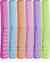 Духи, Парфюмерия, косметика Набор разноцветных мужских расчесок 03845, 60 штук - Eurostil