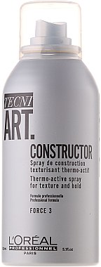 Спрей термоактивный текстурирующий - L'Oreal Professionnel Tecni.art Constructor Thermo-Active Spray — фото N2