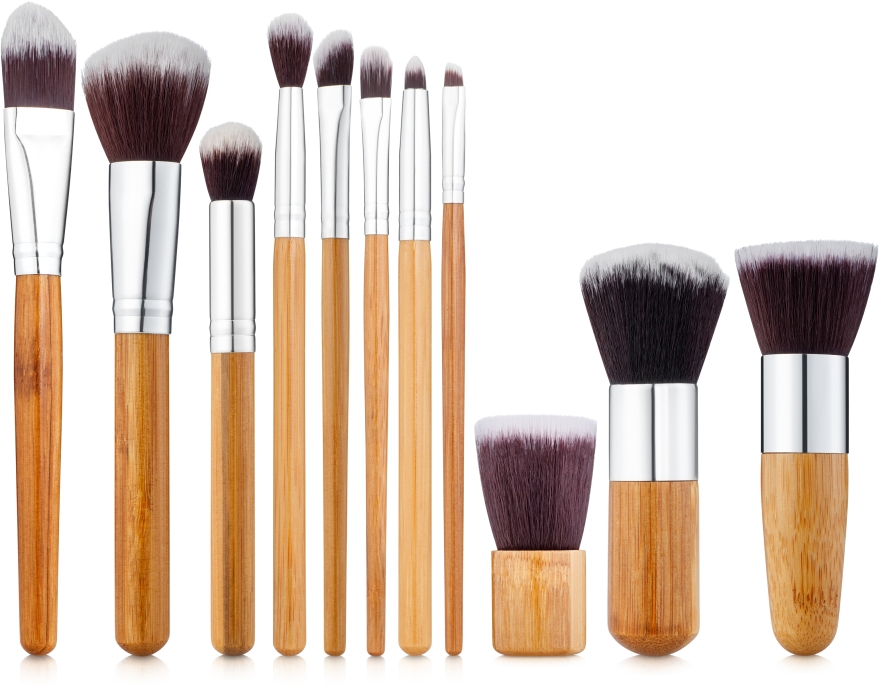 Набор кистей для макияжа 11 шт, ECO-11 - Make Up Me