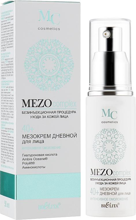 """Мезокрем дневной для лица """"Интенсивное омоложение"""" 40+ - Bielita MEZO complex"""