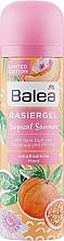 Духи, Парфюмерия, косметика Гель для бритья - Balea Tropical Summer