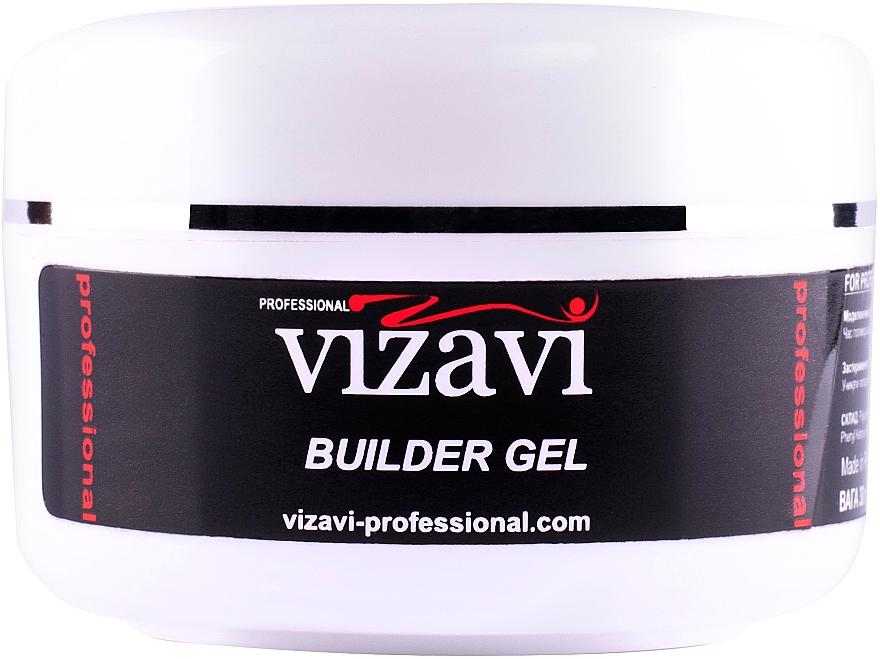 Камуфлирующий гель для наращивания, 15 мл - Vizavi Professional