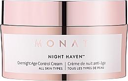 Духи, Парфюмерия, косметика Антивозрастной ночной крем для лица - Monat Night Haven Overnight Age Control Cream