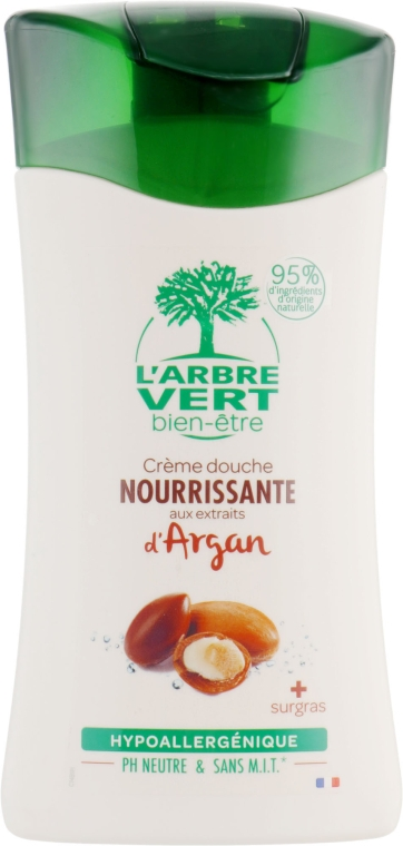 """Крем-гель для душа """"Аргановый"""" - L'Arbre Vert Cream Shower Gel"""