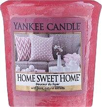 "Духи, Парфюмерия, косметика Ароматическая свеча ""Дом милый дом"" - Yankee Candle Scented Votive Home Sweet Home"