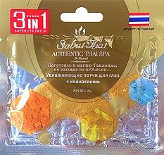 Духи, Парфюмерия, косметика Патчи для глаз с коллагеном - Sabai Thai Collagen Eye Patch