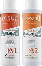 Духи, Парфюмерия, косметика Набор - Result Professional Three-M Eko Protein (shm/100ml + hair/balm/100ml)
