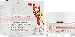 Духи, Парфюмерия, косметика Крем для лица ночной с ягодами годжи - Phytorelax Laboratories Active Age Goji Night Cream