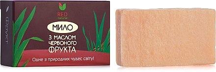 При покупке любого товара Red Natural, получите в подарок мыло с маслом красного фрукта