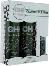 Набор для волос «Чайное дерево» - CHI Tea Tree Oil Calming Cleanse Trio (shm/355ml + cond/355ml + spray/89ml) — фото N8