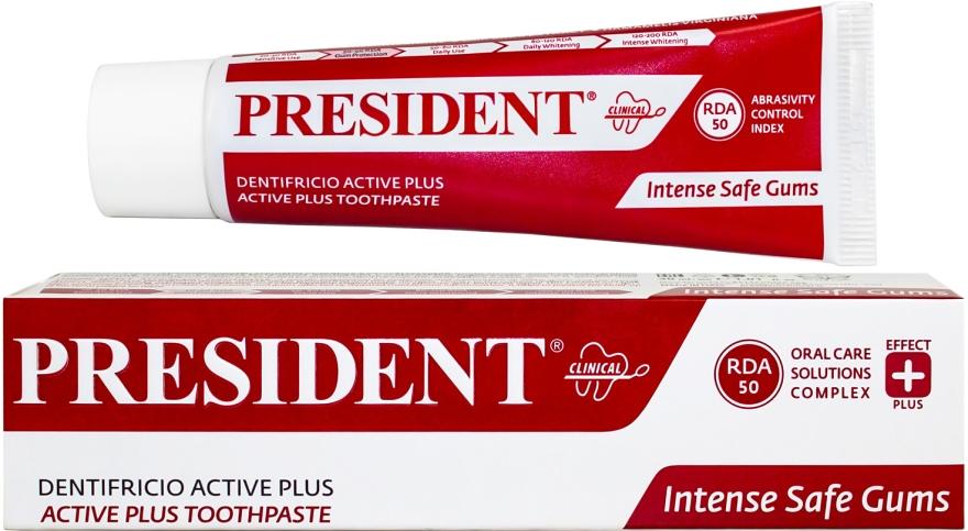 """Лечебная зубная паста """"Clinical Active Plus"""" - PresiDENT"""