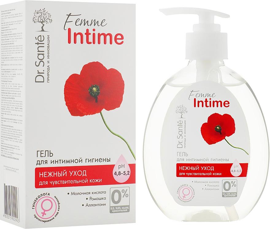 Гель для интимной гигиены «Нежный уход» - Dr. Sante Femme Intime