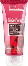 Духи, Парфюмерия, косметика Восстанавливающий крем для рук с розовой водой - Thalia Midnight Rose Hand Cream