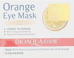 Духи, Парфюмерия, косметика Патчи под глаза с апельсином - Bioaqua VC Eye Mask