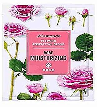 Тканевая маска для лица - Mamonde Flower Essential Mask Rose Moisturizing — фото N1