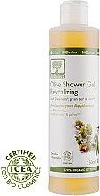 Духи, Парфюмерия, косметика Гель для душа с Диктамелией, Зеленым чаем и Ментолом - BIOselect Olive Shower Gel Revitalizing