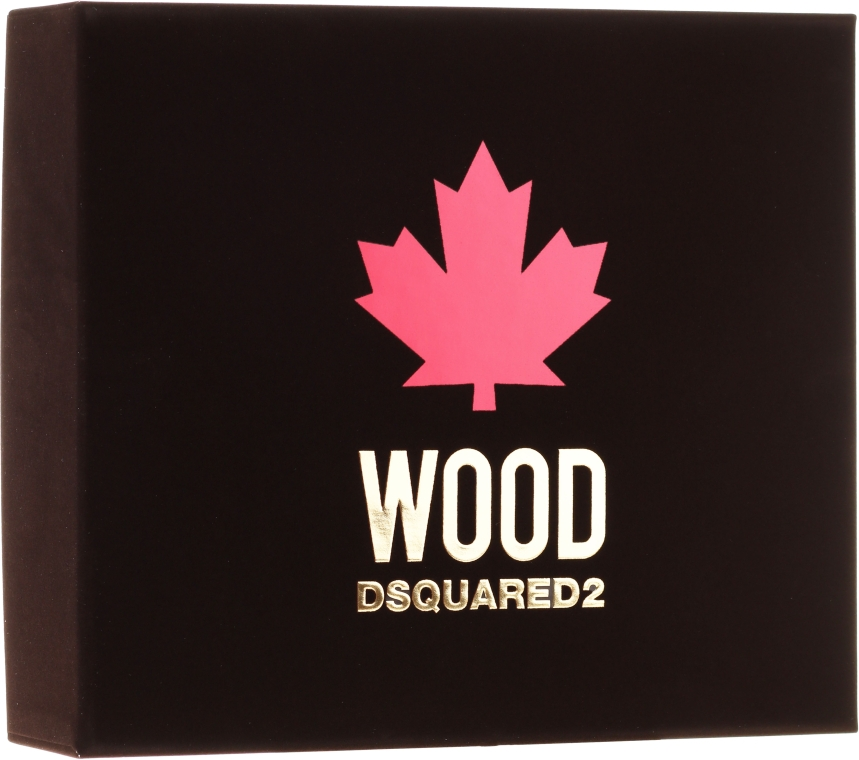 Dsquared2 Wood Pour Homme - Набор (edt/50ml + sh/gel/50ml + ash/b/50ml)