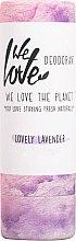 Духи, Парфюмерия, косметика Твёрдый дезодорант с экстрактом лаванды - We Love The Planet Lovely Lavender Deodorant