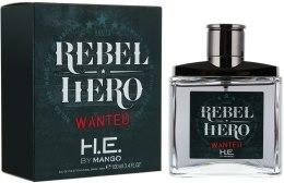 Духи, Парфюмерия, косметика Mango Rebel Hero Wanted - Туалетная вода (тестер с крышечкой)
