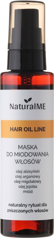 Маска-спрей для волос медовая - NaturalME Hair Oil Line — фото N1