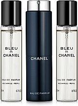 Духи, Парфюмерия, косметика Chanel Bleu de Chanel - Парфюмированная вода (сменный блок с футляром) (тестер)