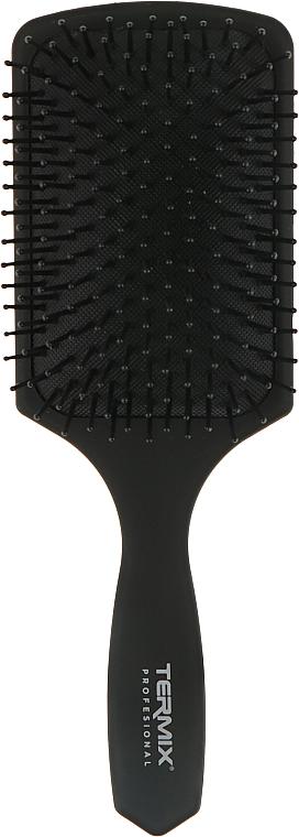 Массажная щетка квадратная, черная - Termix