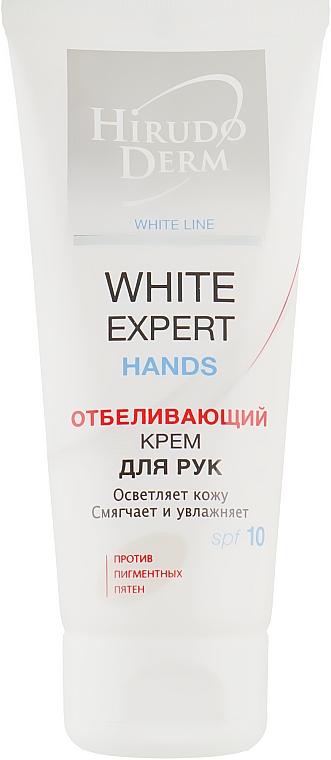 Відбілюючий крем для рук - Hirudo Derm White Expert Hands — фото N2