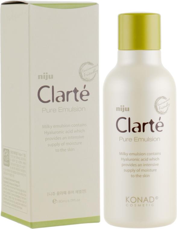 Эмульсия для лица с гиалуроновой кислотой - Konad Niju Clarte Pure Emulsion