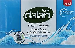"""Духи, Парфюмерия, косметика Мыло для душа """"Морская соль и минералы"""" - Dalan Fresh & Minerals Sea Salt & Natural Minerals"""