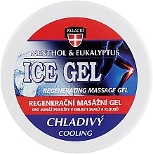 Духи, Парфюмерия, косметика Массажный гель на травах охлаждающий - Palacio Ice Massage Gel