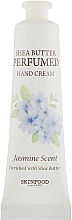 Духи, Парфюмерия, косметика Крем для рук - Skinfood Shea Butter Perfumed Hand Cream Jasmine Scent