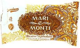 "Духи, Парфюмерия, косметика Влажные салфетки ""Ромашка"" - Mari E Monti Premium Herbal Complex"