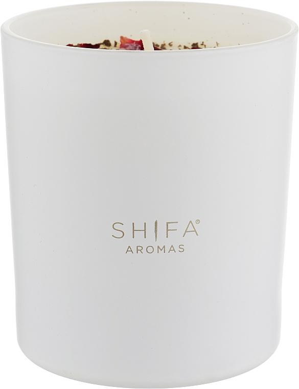 Свеча в стекле - Shifa Aromas Candle Glass Cafe Oud