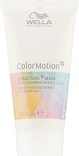 Духи, Парфюмерия, косметика Маска для интенсивного восстановления окрашенных волос - Wella Professionals Color Motion+ Structure Mask (мини)
