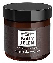Духи, Парфюмерия, косметика Маска для лица - Bialy Jelen Organic-Nature Face Mask