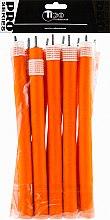 Духи, Парфюмерия, косметика Бигуди гибкие, 240мм, d20, оранжевые - Tico Professional