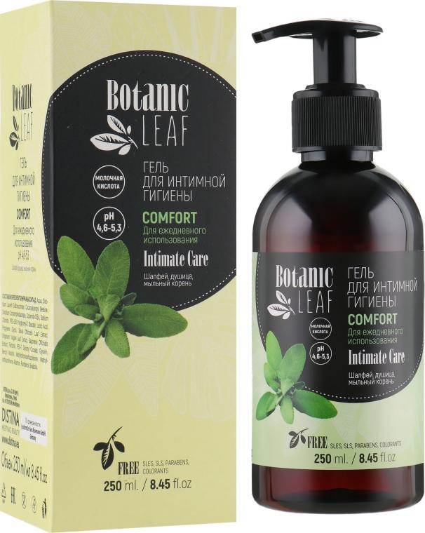 Гель для интимной гигиены для чувствительной кожи - Botanic Leaf Comfort Intimate Gel